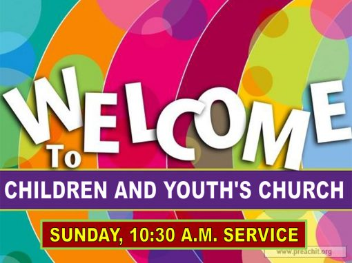 Children and Youth Church